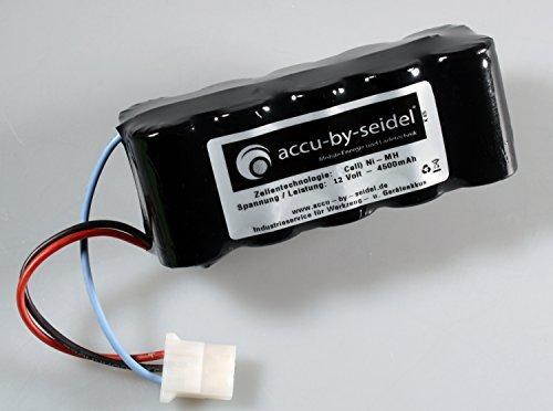 Batterie / Akkupack 4500mAh hochstromfähig für Saxonette, Spartamet, SACHS mit E-Starter