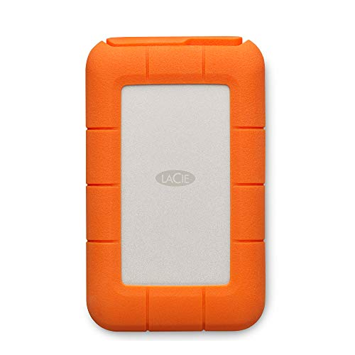 LaCie Rugged Thunderbolt USB-C 4To, disque dur externe mobile - STFS4000800 (1x Thunderbolt, 1X USB-C)