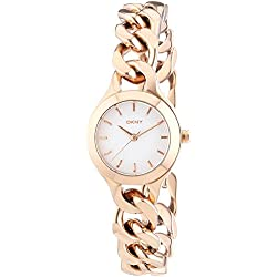 DKNY Ladies'Watch XS Analogue Quartz Stainless Steel Coated NY2214