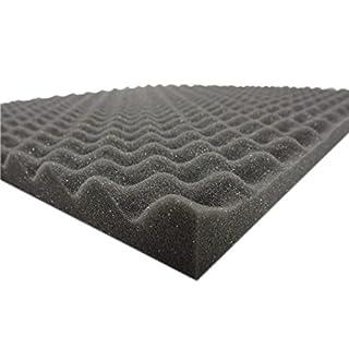 Noppenschaumstoff (ca.100cm x 200cm x 3cm) Akustik Schaumstoff Akustikschaumstoff Dämmung