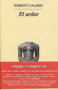 El Ardor par Roberto Calasso