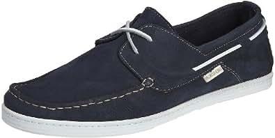 Florsheim Skiathos 50629-41, Herren Bootsschuh, blau, 40.5 EU / 7 UK