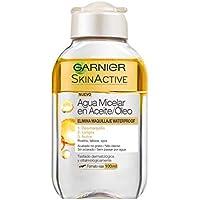 Garnier Skin Active - Agua Micelar en Aceite, Formato Viaje 100 ml, Pack de 6 Unidades