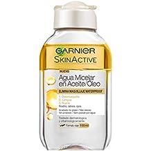 Garnier Skin Active - Agua Micelar en Aceite, Formato Viaje 100 ml, Pack de