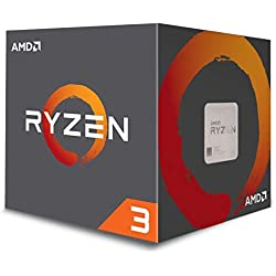 AMD YD1200BBAEBOX Processore CPU, 3,1 GHz (3,4 GHz Turbo), Argento