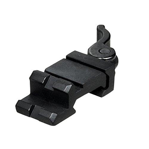 UTG Picatinny Schiene Picatinny/Weaver Winkelmontage mit Schnellverschluß mit einem Slot MAS0122 (Schienen Ar15)