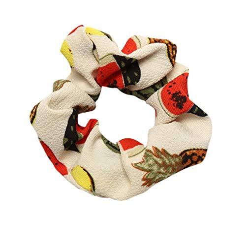 Xmiral Damen Stirnband Striped Elastisches Haar Seil Ring -