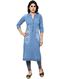 44532e23458 Denim Women s Kurtas   Kurtis  Buy Denim Women s Kurtas   Kurtis ...