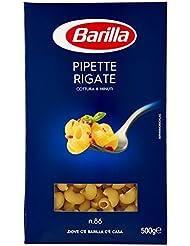 Barilla Pipette Rigate, No. 86, Cottura 8 Minuti - 500 gr