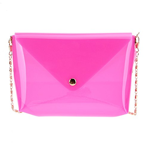 Blingg Transparent Jelly Sling Bag Gift For Women's & Girl's/Fashionable Sling Bag For Women/Women Stylish PU...