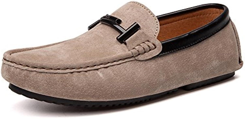 Yaojiaju Loafers Shoes  Indoor  OutdoorDriving Mokassins Echtes Leder Vamp Penny Soft Sole Loafers Für Männer