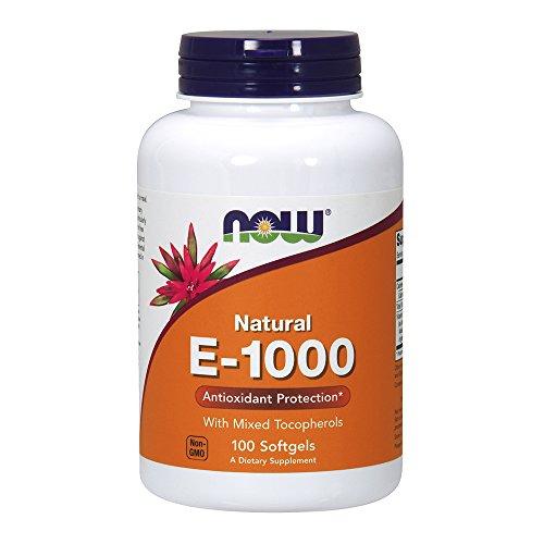 NOW Witamina E-1000 100 softgels