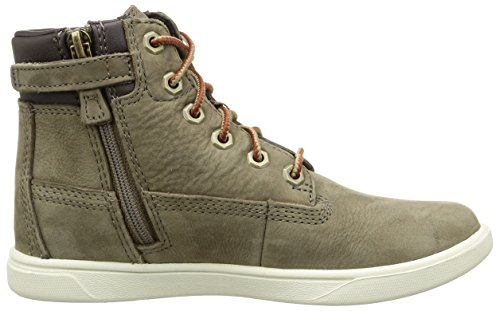 Timberland Groveton 6in, Sneakers Hautes Mixte Enfant Vert (Green)