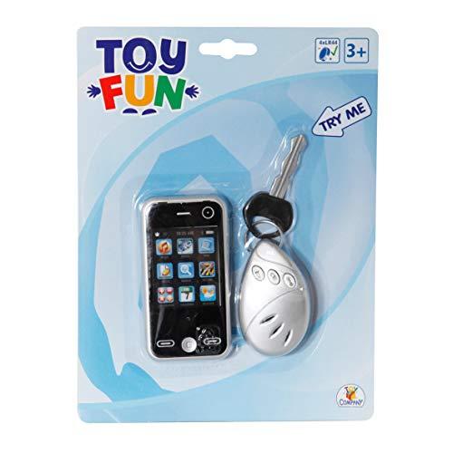VEDES Großhandel GmbH - Ware Toy Fun Mobile Phone avec Porte-clés