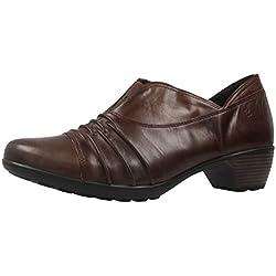 ROMIKA - Damen Trotteur Pumps - Banja 04 - Braun Schuhe in Übergrößen, Größe:42
