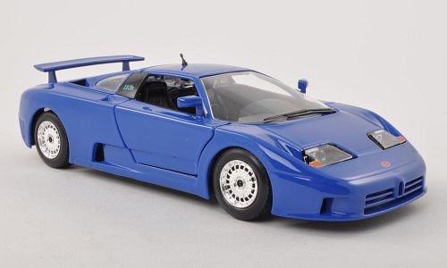 Preisvergleich Produktbild Bugatti EB 110, blau , Modellauto, Fertigmodell, Bburago 1:24