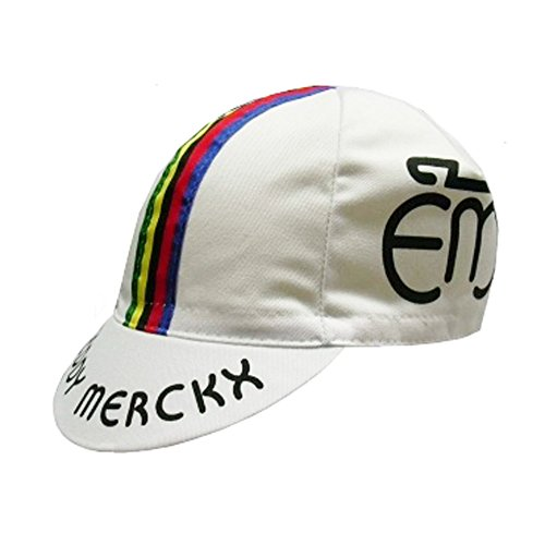 Eddy Merckx Retro Cotton Cycling Cap by APIS (Cotton Cycling Cap)