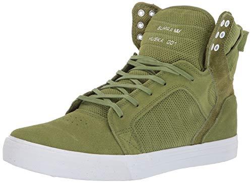 Supra Unisex-Erwachsene Skytop Hohe Sneaker, Grün (Moss-White 371), 46 EU (Supra Sneakers Skytop)