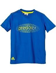 adidas Predator - Camiseta para niño azul azul, amarillo Talla:128