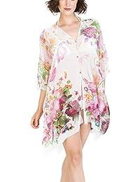 b261b473afab7 Camisolas Playa Mujer Verano Pareo Vestido para Proteger Sol y Cubrir Bikini