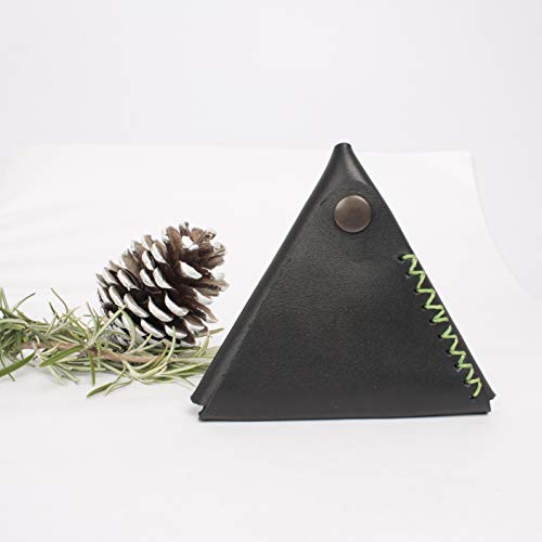 0c8f11ad62 Portamonete in pelle piramidale, portamonete in pelle, portamonete ...