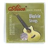 Ortola 5728 Parure de cordes en nylon pour Ukulélé Noir