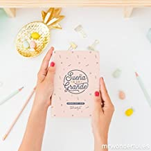 Mr. Wonderful Sueña a lo grande - Agenda pequeña 2017-2018, color rosa claro