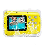 Waterproof Kids Camera, Underwater Digital Camera with 2.0 inch LCD Screen,5MP CMOS Sensor/
