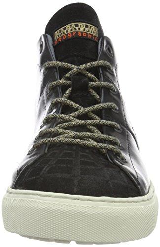 Napapijri Bever, Baskets Basses Homme Noir - Schwarz (black N00)