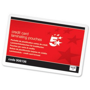 5-star-office-laminating-pouches-250-micron-for-credit-card-size-54x86mm-glossy-pack-100