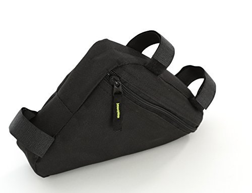 Borsa a Triangolo per Telaio Bici - impermeabile - Con Velcro per Facile Utilizzo