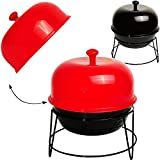 alles-meine GmbH Barbecue - BBQ Grill  - Aufbewahrungsdose mit Deckel - Schale Tisch - Aufbe..