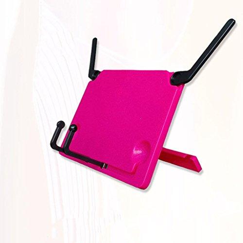 DFHHG® Libro Estantería Estantería Plegable Niño Estudiante 21 * 16 Cm Rojo durable ( Color : Rojo )