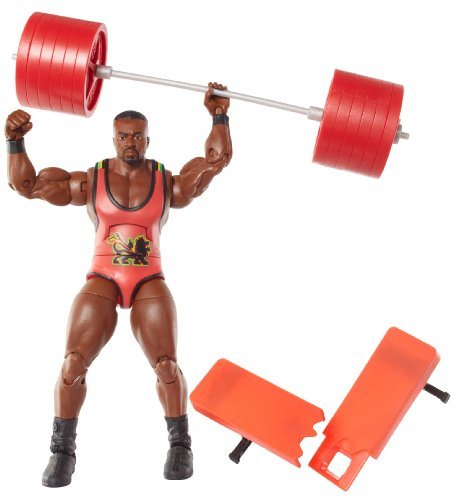 Figur WWE Big E Langston Elite Serie 26