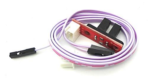Turmberg3D – Interruttore ottico con set di cavi e indicatore LED per stampante RAMPS 3D RepRap Mendel Prusa Anet A8 A6 Makerbot Mega 2560 1280 CNC Arduino, Optischer Endstop, 3