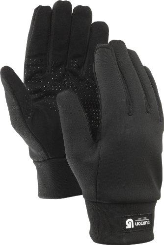 Burton Herren Handschuhe MB Touch N Go Liner, True Black, M, - Handschuhe Herren Winter Burton