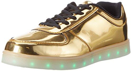 wize & opeLed-gold - Scarpe da Ginnastica Basse Unisex - Adulto , oro (Oro (gold) ), 44