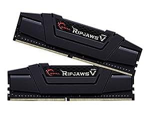 G.SKILL Ripjaws V Series F4-3000C14D-16GVK 16 GB (8 GB x 2) DDR4 3000 MHz CL14 Memory Kit - Classic Black
