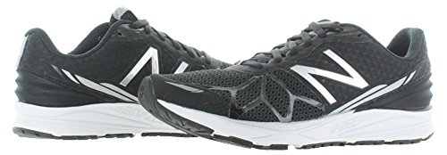 New Balance Women's Pacev1 Black/White Sneaker 10 D - Wide Black/White