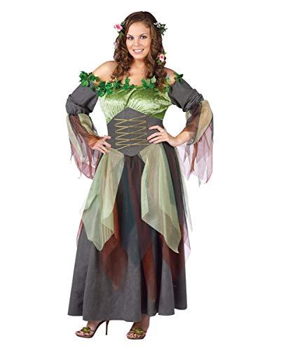 Horror-Shop Waldelfe Kostüm Plus Size