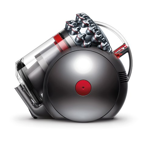 Dyson 100014-01 Cinetic Big Ball Animal Pro- Aspiradora (sin bolsa, 250 W succion, 1.6 L), color gris