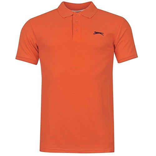Slazenger Herren Polo Poloshirt 2014, S-4XL Orange