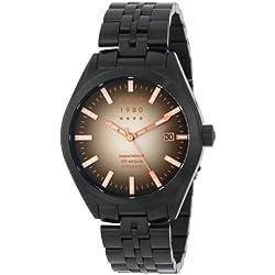 CCCP Herren CP-7012-44 Shchuka Analog Display Automatic Self Wind Black Armbanduhr