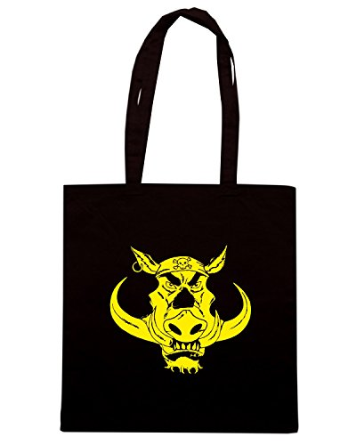 T-Shirtshock - Borsa Shopping TB0082 wild biker Nero