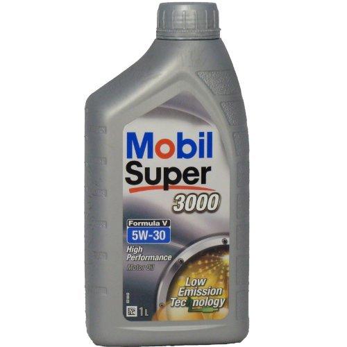 Mobil 1 Huile pour moteur Super 3000Formula V 5W-30Longlife III, 1L pas cher