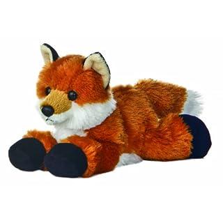 Aurora 12745 8-inch Flopsie Fox, Multicolor