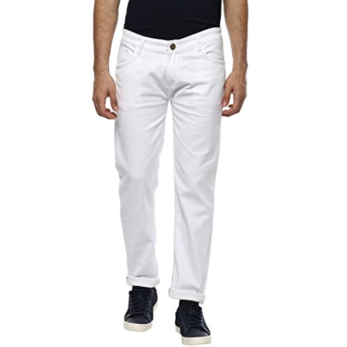 Urbano-Fashion-Mens-White-Slim-Fit-Stretch-Jeans