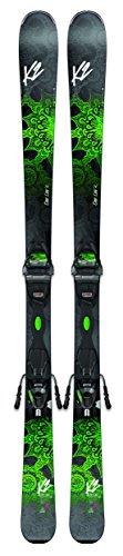 k2-skis-damen-one-luv-74-mit-bindung-er3-10-compact-quikclik-ski-set-black-green-160-cm