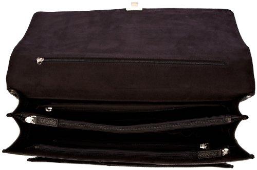 Leonhard Heyden 5408 Bristol, Unisex - Erwachsene Aktentasche Black