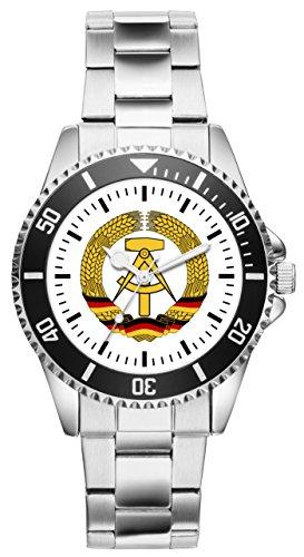 DDR Geschenk Artikel Idee Fan Uhr 1171